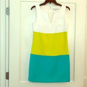 Trina Turk Size 2 Color Block Shift Dress